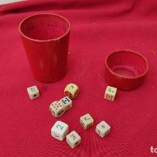 Juegos de mesa: JUEGO DE DADOS. Lote 245430130