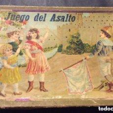Juegos de mesa: ANTIGUO JUEGO *ASALTO* DE ENRIQUE BORRÁS MATARÓ - AÑO 1920-30S.. Lote 245766110