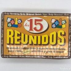 Juegos de mesa: CAJA DE 15 JUEGOS REUNIDOS - PARA VIAJE. Lote 246352115