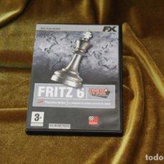 Jogos de mesa: FRITZ 6, DVD AJEDREZ PARA ORDENADOR. Lote 246741765