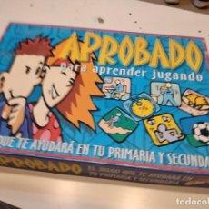 Jogos de mesa: M JUEGO DE MESA APROBADO PARA APRENDER JUGANDO VER FOTO PARA ESTADO Y PIEZAS. Lote 247403560