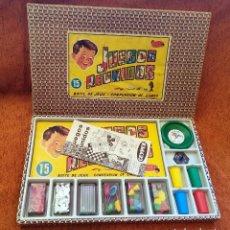 Juegos de mesa: JUEGOS REUNIDOS GEYPER 15 - COMPLETOS CON TODO ORIGINAL Y EN BUENÍSIMO ESTADO - 1964. Lote 247482280