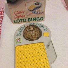 Juegos de mesa: LOTO BINGO ELÉCTRICO MARCA CHICOS. Lote 248269020
