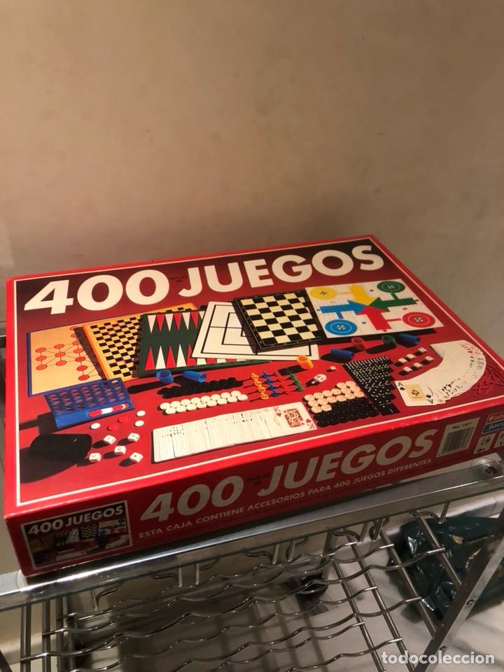 CAJA DE JUEGOS 400 JUEGOS, MUY BUEN ESTADO (Juguetes - Juegos - Juegos de Mesa)