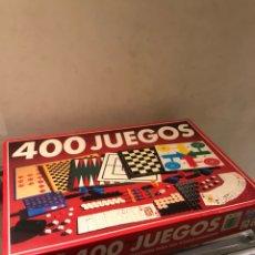 Juegos de mesa: CAJA DE JUEGOS 400 JUEGOS, MUY BUEN ESTADO. Lote 248626370