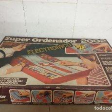 Juegos de mesa: SUPER ORDENADOR 2002 JUEGO DE MESA ELECTRONICO. Lote 248640670