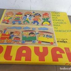 Juegos de mesa: PLAYFIL COMO HACER DO BONITOS CUADROS PARA TU HABITACION. Lote 248641615