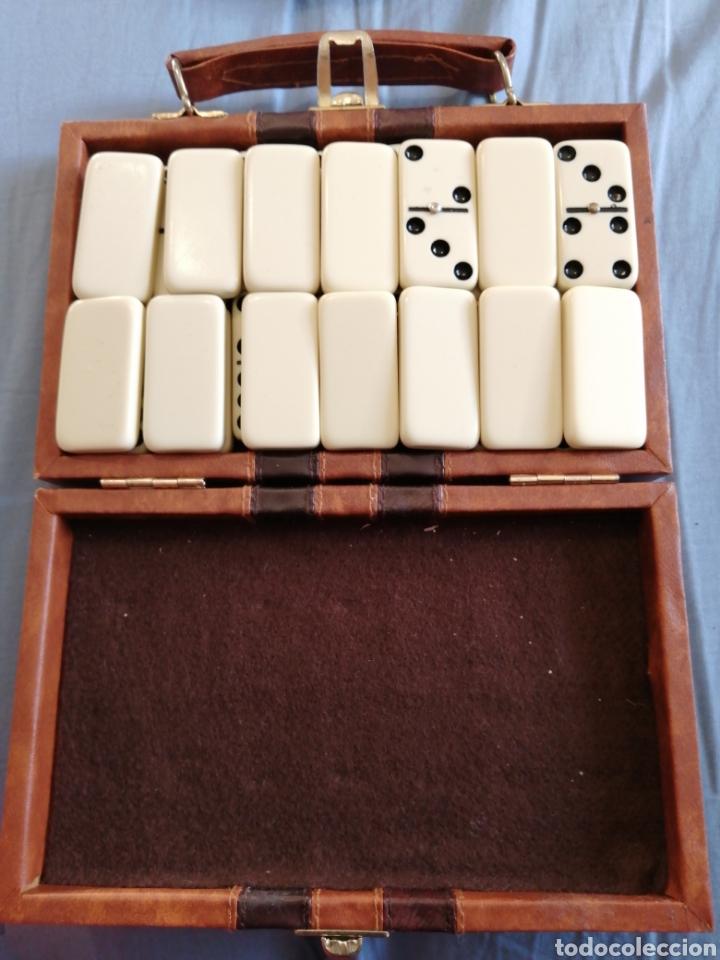 Juegos de mesa: Ideal para viaje. Las fichas miden casi 4 de largo y casi 2cm de ancho - Foto 2 - 248759010