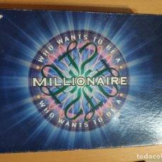 Juegos de mesa: QUIÉN QUIERE SER MILLONARIO EN INGLÉS. Lote 249154760