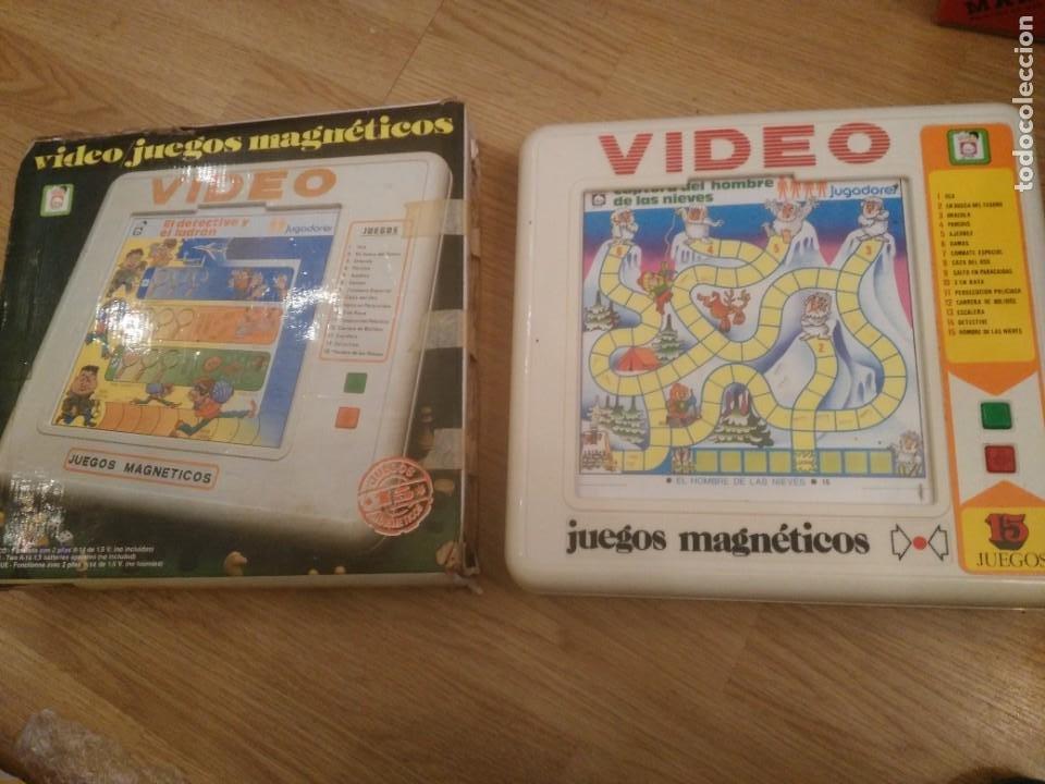 VIDEO 15 DE CHICOS. JUEGOS MAGNETICOS. , CON CAJA ORIGINAL Y CON INSTRUCCIONES AÑOS 80 (Juguetes - Juegos - Juegos de Mesa)