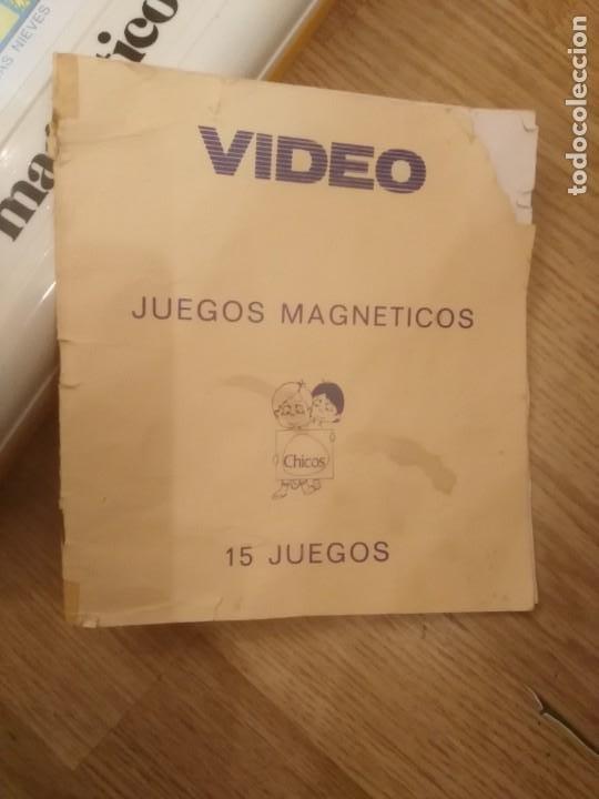 Juegos de mesa: VIDEO 15 DE CHICOS. JUEGOS MAGNETICOS. , CON CAJA ORIGINAL Y CON INSTRUCCIONES AÑOS 80 - Foto 3 - 251081385