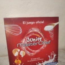 Juegos de mesa: MASTER CHEF JUNIOR - JUEGO DE MESA OFICIAL RTVE (PRÁCTICAMENTE NUEVO) - CLEMENTONI - JUEGO COCINA. Lote 251984015