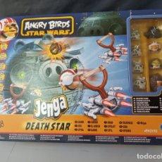 Juegos de mesa: ANGRY BIRDS-STAR WARS-JENGA- DEATHSTAR-2012. Lote 252144830