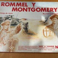 Jeux de table: ROMMEL & MONTGOMERY NAC. Lote 252383450