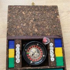 Juegos de mesa: JUEGO DE LA RULETA HCA PRODUCTOS. Lote 252626405