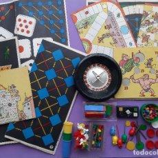 Giochi da tavolo: JUEGOS REUNIDOS GEYPER 8 CARTONES RULETA ACCESORIOS TODO LO FOTOGRAFIADO. Lote 252984015