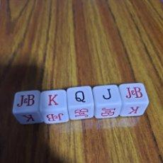 Jeux de table: DADOS POKER PUBLICIDAD J&B. Lote 253033625