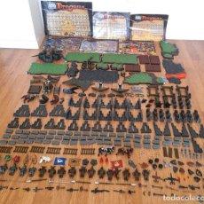 Juegos de mesa: GRAN LOTE 286 PIEZAS FIGURAS DRAGONS WARRIORS MEGA BLOCKS MEGABLOCKS VARIOS MANUALES INSTRUCCIONES. Lote 253115140