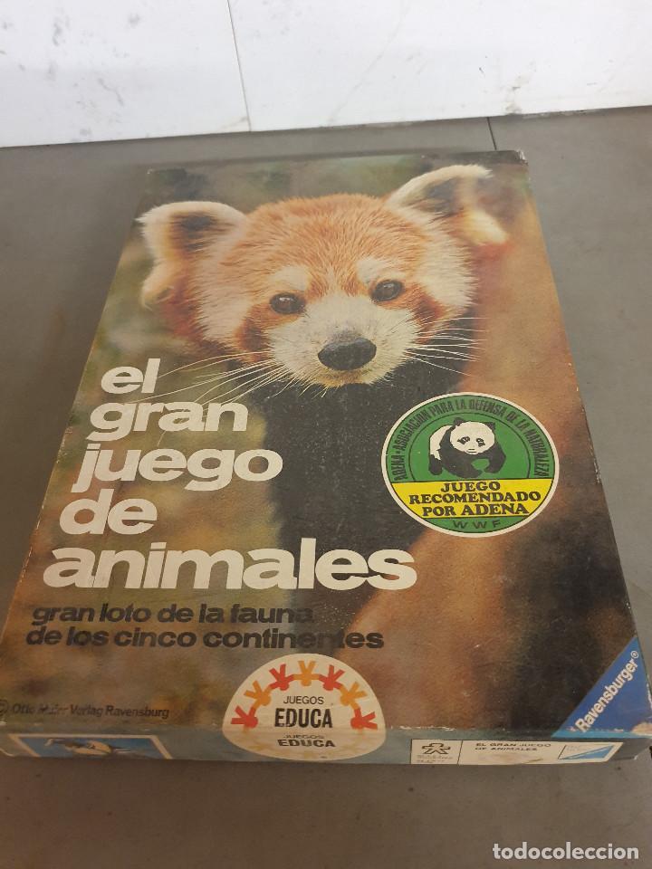 JUEGO MESA EL GRAN JUEGO DE ANIMALES (Juguetes - Juegos - Juegos de Mesa)