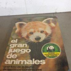Juegos de mesa: JUEGO MESA EL GRAN JUEGO DE ANIMALES. Lote 253353225
