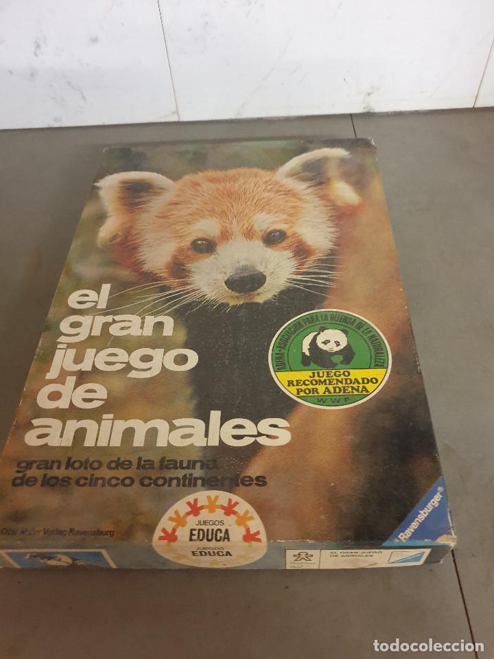 Juegos de mesa: JUEGO MESA EL GRAN JUEGO DE ANIMALES - Foto 2 - 253353225
