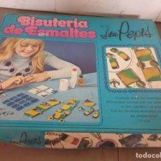 Juegos de mesa: JUEGO MESA BISUTERIA DE ESMALTES SEÑORITA PEPIS. Lote 253355065