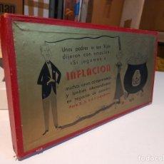 Juegos de mesa: INFLACION ( JUEGO DE MESA VINTAGE ) ORIGINAL DE EPOCA, 1952 ,JUEGOS CRONE. Lote 253574025