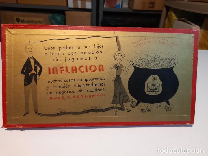 Juegos de mesa: INFLACION ( JUEGO DE MESA VINTAGE ) ORIGINAL DE EPOCA, 1952 ,JUEGOS CRONE - Foto 2 - 253574025