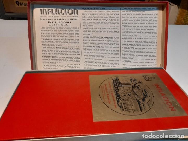 Juegos de mesa: INFLACION ( JUEGO DE MESA VINTAGE ) ORIGINAL DE EPOCA, 1952 ,JUEGOS CRONE - Foto 3 - 253574025