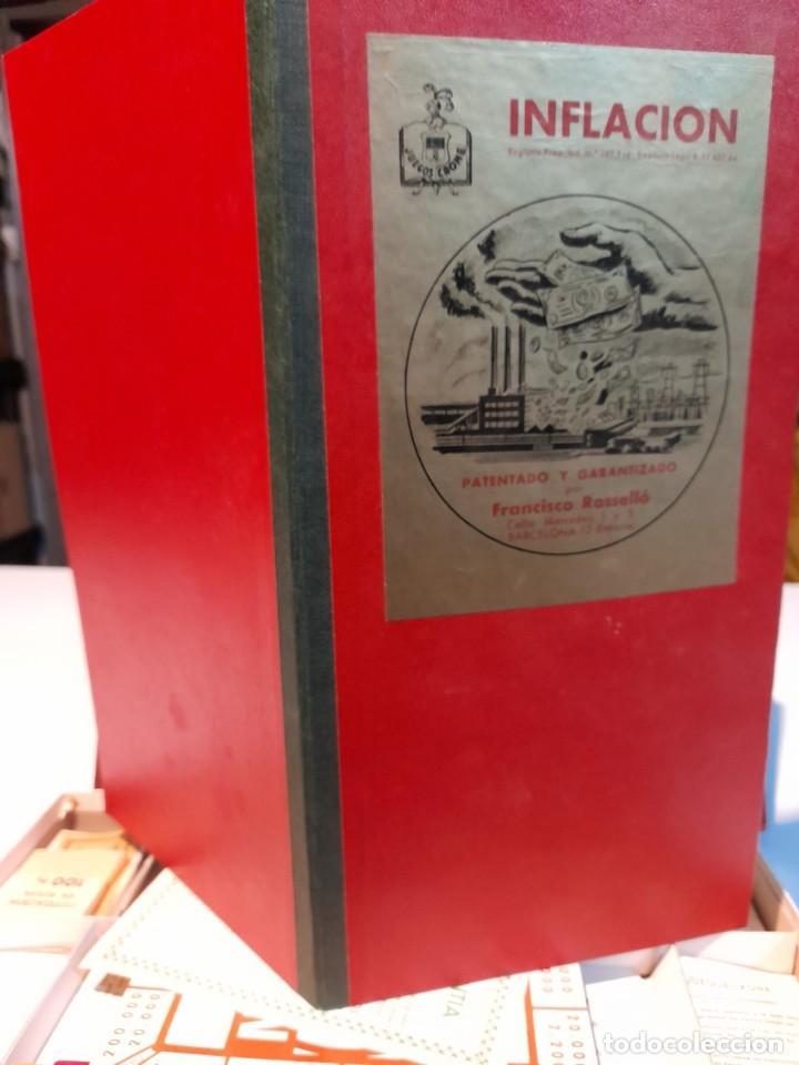 Juegos de mesa: INFLACION ( JUEGO DE MESA VINTAGE ) ORIGINAL DE EPOCA, 1952 ,JUEGOS CRONE - Foto 4 - 253574025