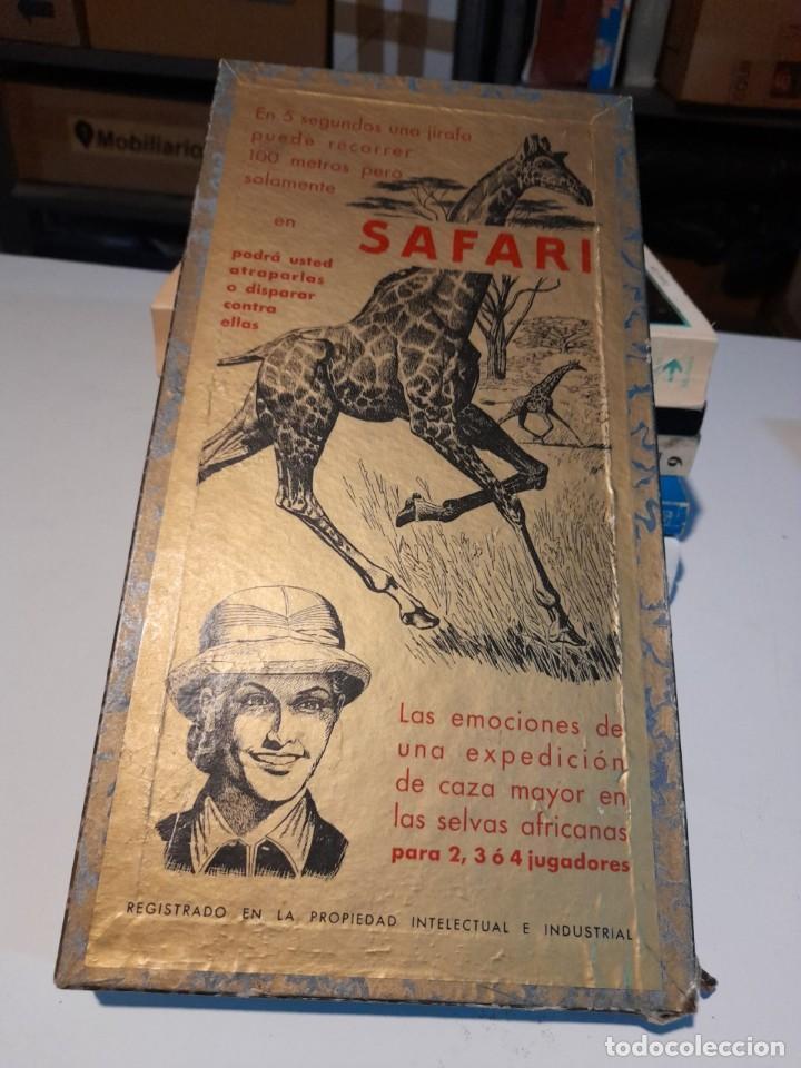 SAFARI ( JUEGO DE MESA VINTAGE ) ORIGINAL DE EPOCA, 1953, JUEGOS CRONE (Juguetes - Juegos - Juegos de Mesa)