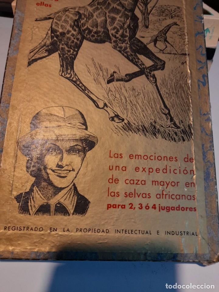 Juegos de mesa: SAFARI ( JUEGO DE MESA VINTAGE ) ORIGINAL DE EPOCA, 1953, JUEGOS CRONE - Foto 2 - 253574690