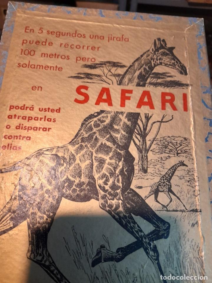 Juegos de mesa: SAFARI ( JUEGO DE MESA VINTAGE ) ORIGINAL DE EPOCA, 1953, JUEGOS CRONE - Foto 3 - 253574690