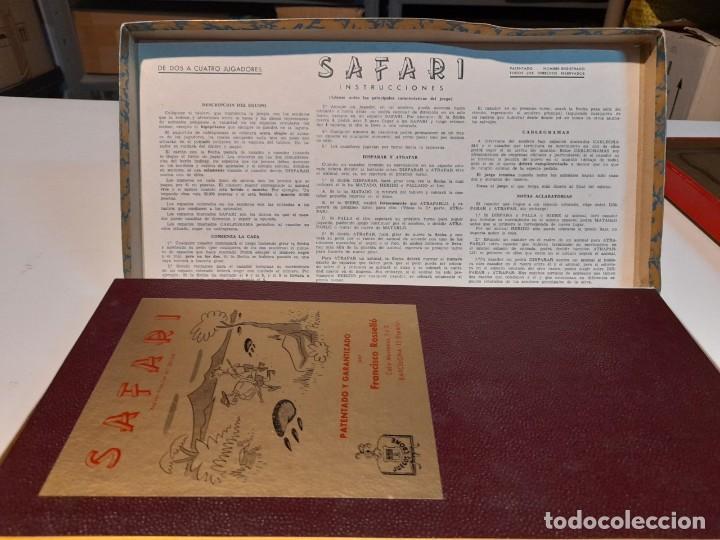 Juegos de mesa: SAFARI ( JUEGO DE MESA VINTAGE ) ORIGINAL DE EPOCA, 1953, JUEGOS CRONE - Foto 4 - 253574690