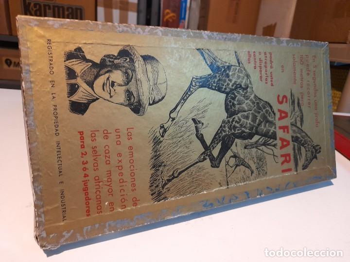 Juegos de mesa: SAFARI ( JUEGO DE MESA VINTAGE ) ORIGINAL DE EPOCA, 1953, JUEGOS CRONE - Foto 7 - 253574690