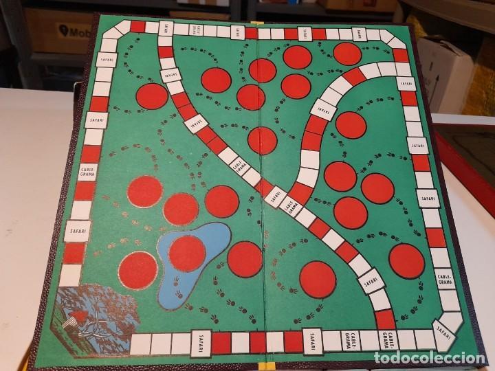 Juegos de mesa: SAFARI ( JUEGO DE MESA VINTAGE ) ORIGINAL DE EPOCA, 1953, JUEGOS CRONE - Foto 8 - 253574690