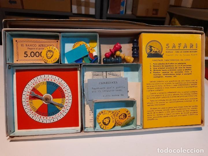 Juegos de mesa: SAFARI ( JUEGO DE MESA VINTAGE ) ORIGINAL DE EPOCA, 1953, JUEGOS CRONE - Foto 10 - 253574690