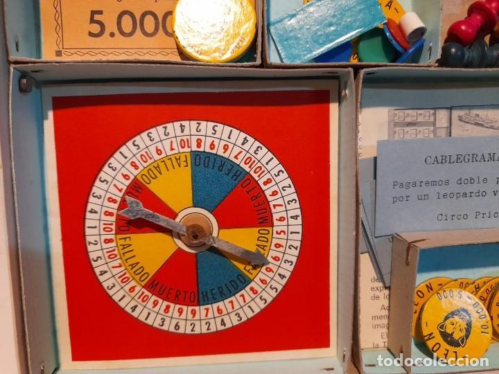 Juegos de mesa: SAFARI ( JUEGO DE MESA VINTAGE ) ORIGINAL DE EPOCA, 1953, JUEGOS CRONE - Foto 11 - 253574690