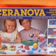 Jeux de table: JUEGO INFANTIL DE MESA PARA TRABAJAR CERAS -CERANOVA AÑOS 80/90. Lote 253674705