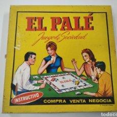 Juegos de mesa: EL PALÉ JUEGO DE SOCIEDAD ANTIGUO. Lote 253715410