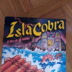 Jogos de mesa: ISLA COBRA. EL MAR DE NIEBLA. CEFA. MUY RARO. Lote 253867195