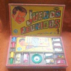 Juegos de mesa: JUEGOS REUNIDOS GEYPER 25 - COMPLETOS CON TODO ORIGINAL EN MUY BUEN ESTADO - VERSIÓN AÑO 1968. Lote 254165785
