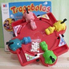 Juegos de mesa: JUEGO MESA HIPOPÓTAMOS TRAGABOLAS - MB JUEGOS - HASBRO - 2004. Lote 254200825