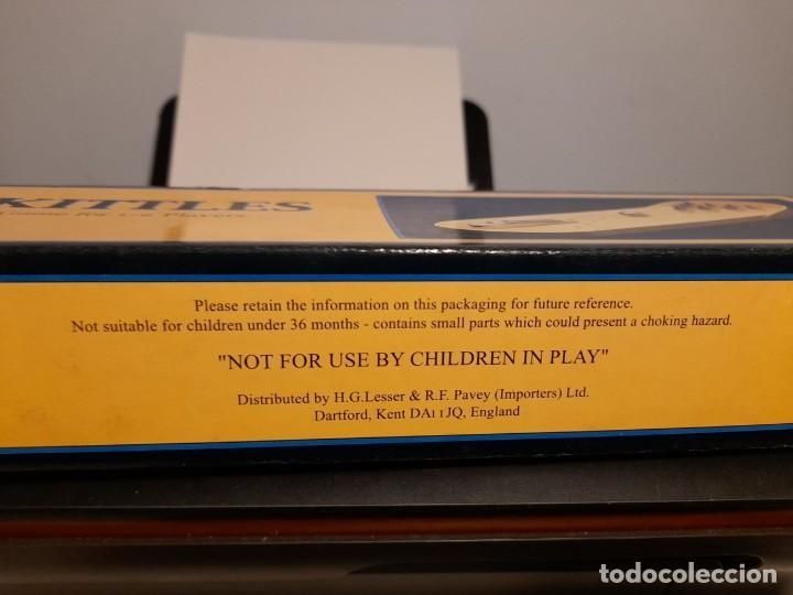 Juegos de mesa: SKITTLES VINTAGE GAME ( JUEGO DE BOLOS, PISTA BASE DE MADERA, BOLOS DE METAL ) BOWLING - Foto 5 - 254358385