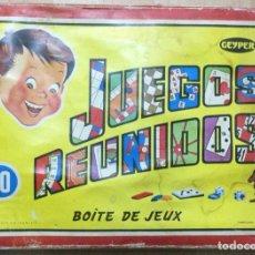 Juegos de mesa: JUEGOS REUNIDOS GEYPER 10 JUEGOS. COMPLETO. AÑOS 60. Lote 254718165