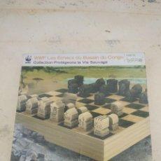 Juegos de mesa: AJEDREZ MADERA LA VIE SAUSAGE DU CONGO. Lote 254814510