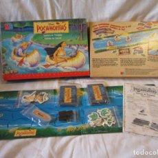 Juegos de mesa: POCAHONTAS CARRERA DE PIRAGUAS (1995) (MB JUEGOS). Lote 254838440