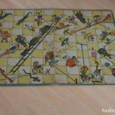 Juegos de mesa: TABLERO DE JUEGOS REUNIDOS GEYPER. AÑOS 60. JUEGO INFANTIL DE LA ESCALERA. 23 X 32 CM. KARPA.. Lote 255431055