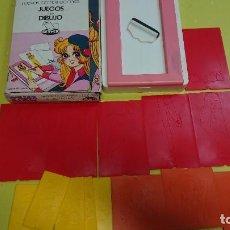 Jogos de mesa: ANTIGUO JUEGO NUEVO ESTILO JUEGOS DE DIBUJO DISEÑA TU MODA DE GEYPER. Lote 257413880