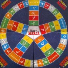 Juegos de mesa: EL LISTON DE MARCA: TRIVIAL DE FÚTBOL - JUEGO DE MESA--HH -COMO NUEVO. VINTAGE, AÑOS 90. Lote 244477850